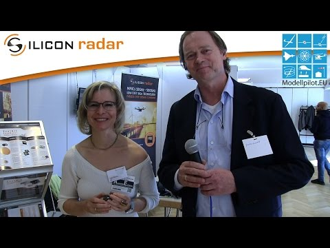 SILICON RADAR GMBH INTERVIEW at the DRONE BERLIN 2016 EXHIBITION