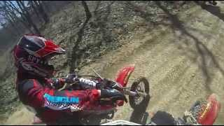 pit bike junkie magazine a day in the dirt dirtbike trail riding