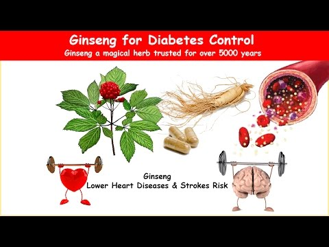 Ginseng Diabetes Herb Lower Blood Sugar