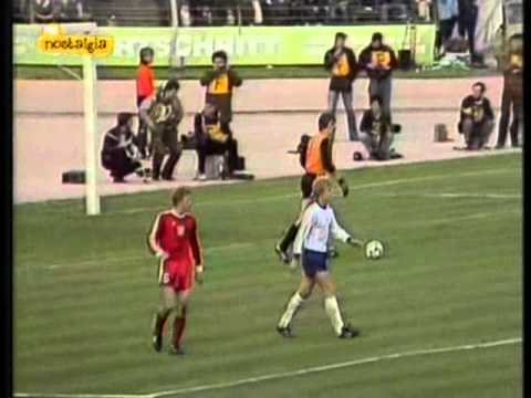 DDR - Poland 10 October 1981 2nd half Qualification World Cup