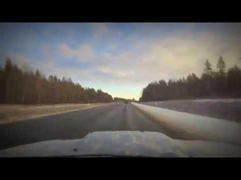 Tallinn -- Sillamäe in minutes (time-lapse)