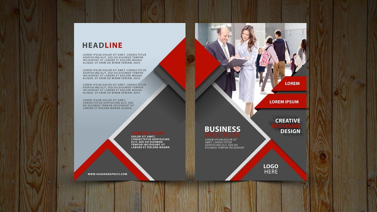 two fold brochure design