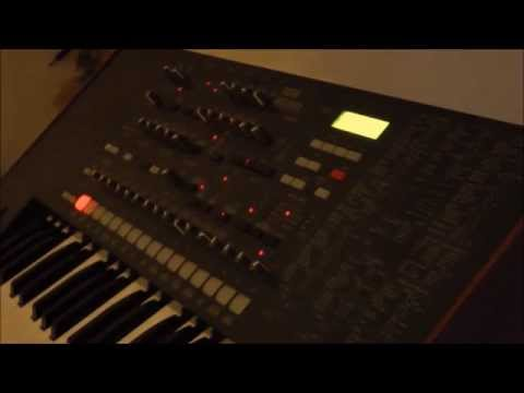 Korg MS2000 Sci Fi Sound Effects