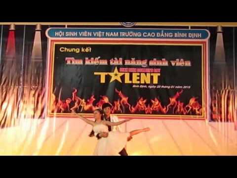 BUC THU TINH DAU TIEN-Dang Quang Huy-Cao dang Binh Dinh