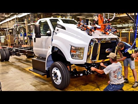 2016 Ford F-650/F-750 Ohio Assembly Plant
