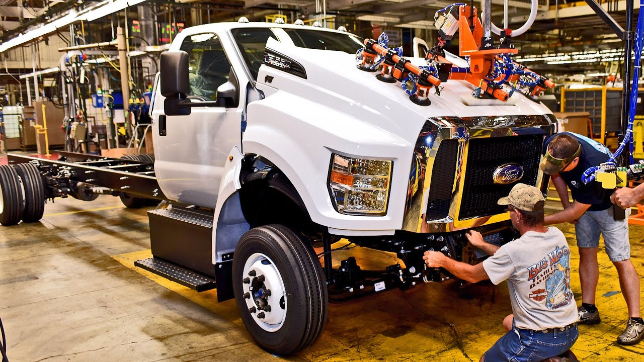 2016 Ford F650F750 Ohio Assembly Plant  YouTube