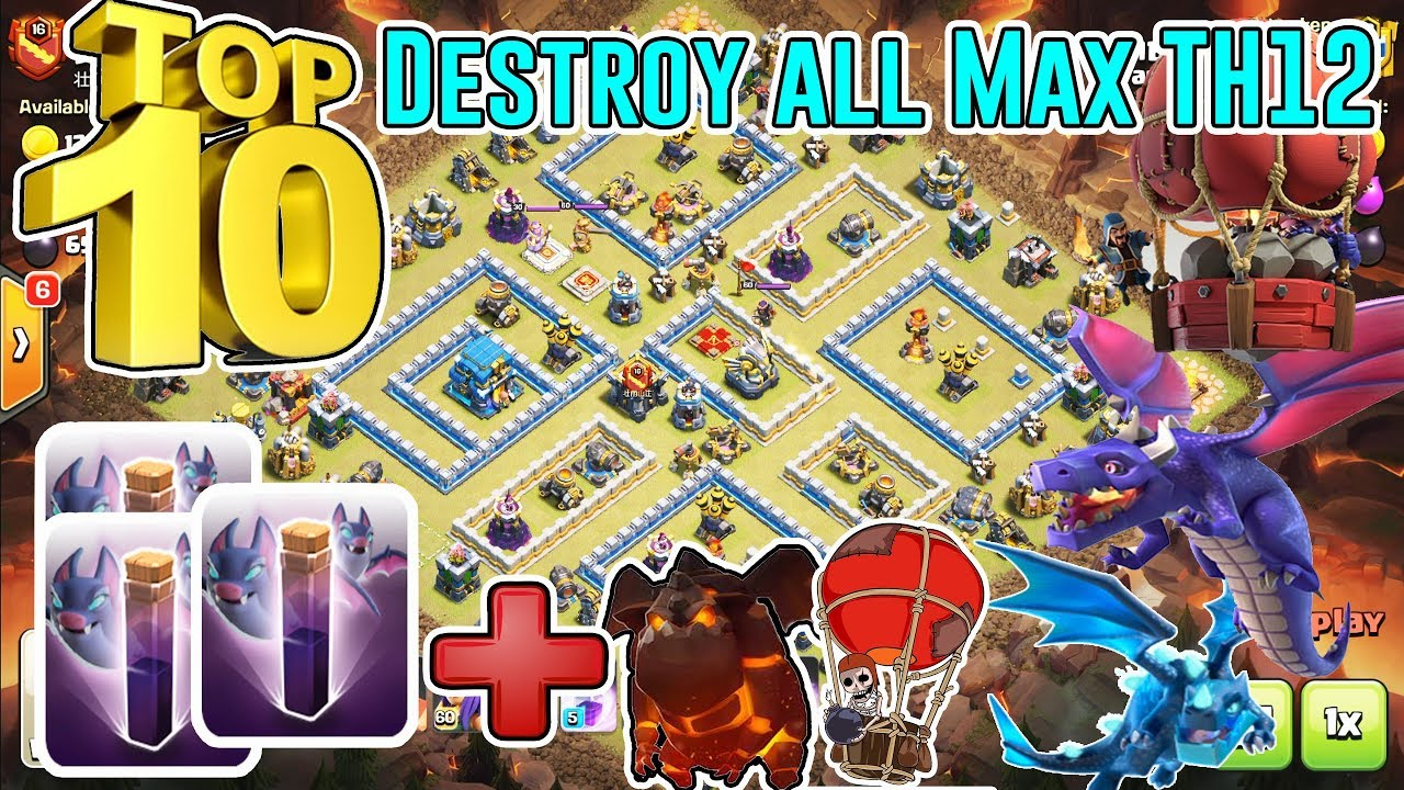 Base War Th 12 Anti Bat Spell 2