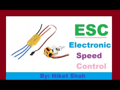 electronic speed control (ESC) in hindi