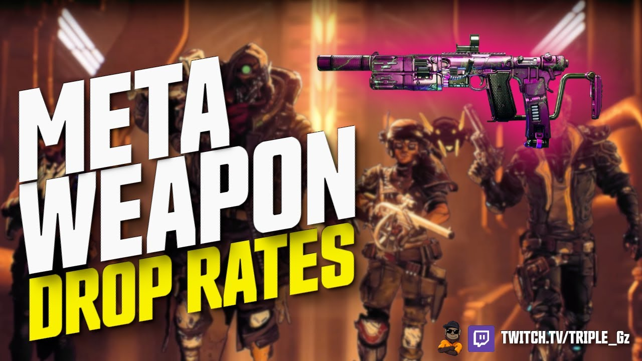 Borderlands 3 // META WEAPONS EXACT DROP RATES thumbnail