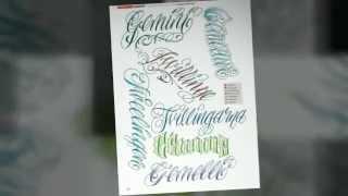 LETTERING & SCRIPT - By Delia Vico