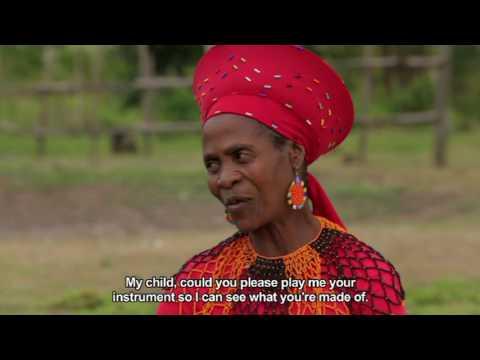 Kulcha Kwest 4 - Eps 4: Playing a Zulu music instrument