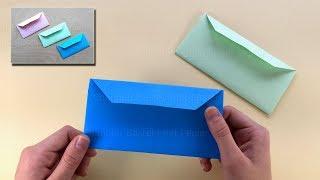 Origami envelope - Origami for beginners ✉