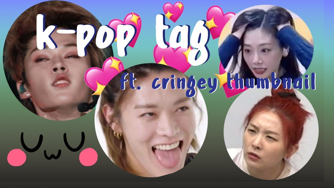 i did the k-pop tag for my own entertainment