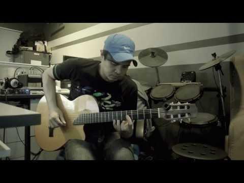 Jika (Melly Goeslaw) - Instrumental - Fingerstyle - Cover - 96 Gibson Chet Atkins Studio CE Nylon