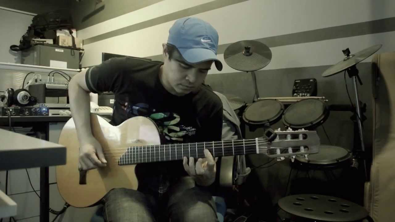 Jika (Melly Goeslaw) - Instrumental - Fingerstyle - Cover - 96 Gibson Chet Atkins Studio CE Nylon