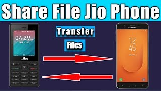 How to share File in jio phone || How to open files received by Bluetooth in jio phone