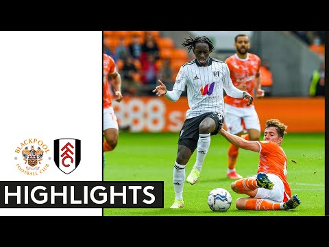 Blackpool Fulham Goals And Highlights