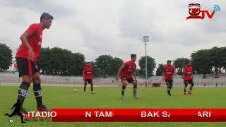 Latihan H-1 Laskar Sapeh Kerrab Gelaran Piala Presiden 2018