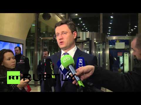 Belgium: Russia's Novak announces Ukraine gas supply deal
