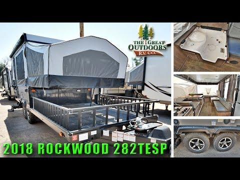 New 2018 Pop Up Camper ROCKWOOD 282TESP Off Road Toy Hauler RV