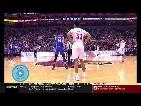 Kentucky Wildcats Vs Louisville Cardinals ~ NCAA Men's Basketball Full Game Highlights ~ 12.29.2018