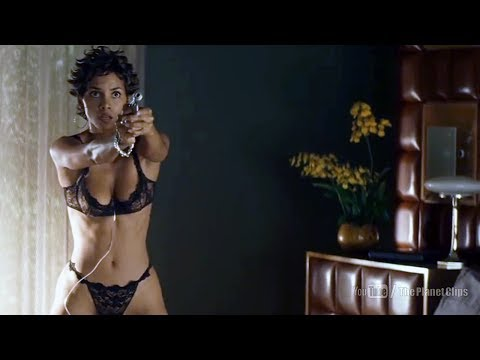 Halle Berry Changing Her Dress | Swordfish (2001) Movie Scene