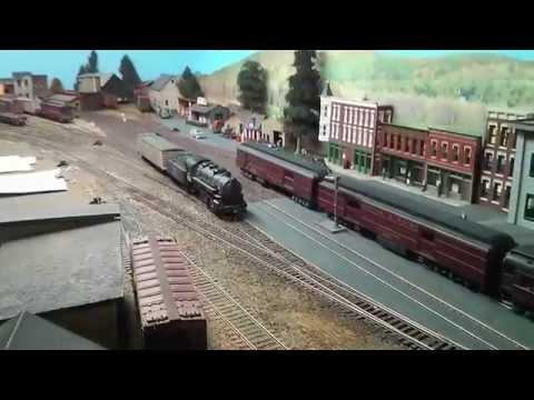 Replica Boston and Maine Railroad from Boston through NH