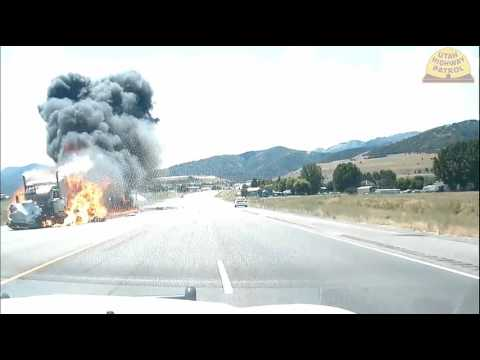 UHP  Logan PD dash cam  of fatal crash