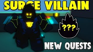 'NOUVEAU' 🤯 VILLAIN QUESTS, SKILLS, TRAINING AREAS - LOADS PLUS!! (ROBLOX POWER SIMULATOR UPDATE)