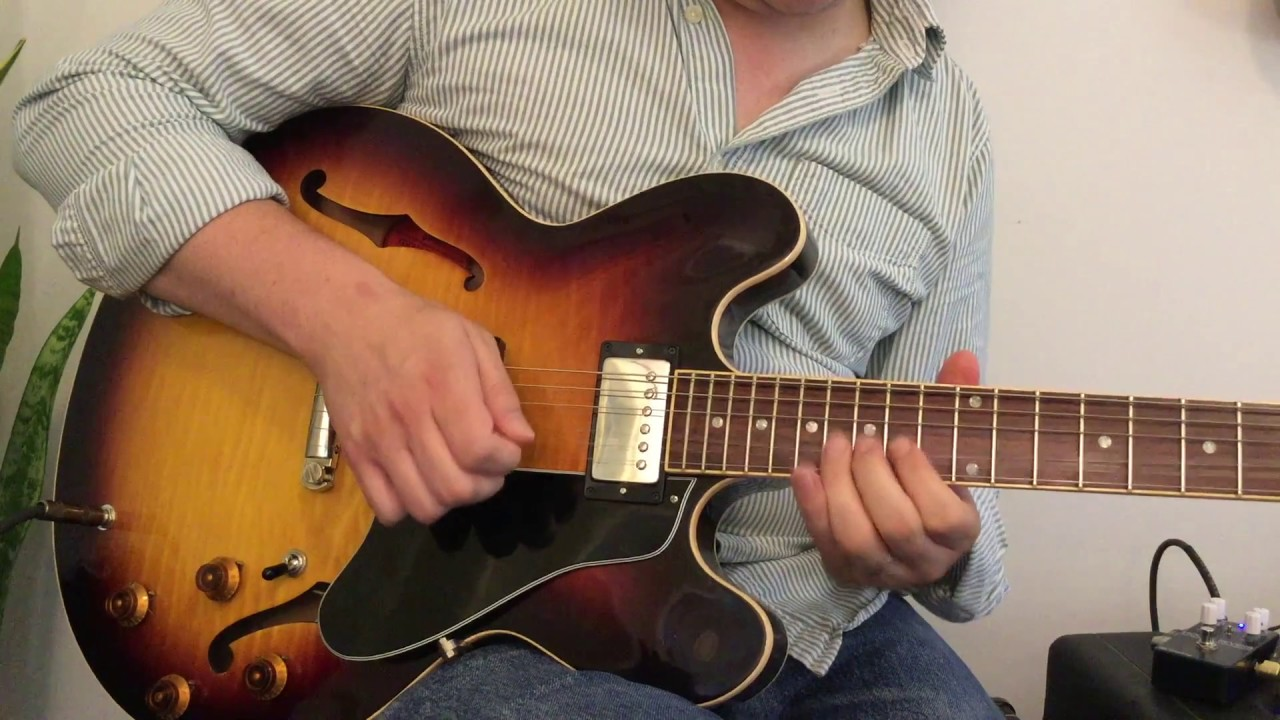 Gibson Es335 With Lust For Tone 57 Lustbuckers Paf Humbuckers Demo Es 335 Wiring Harness