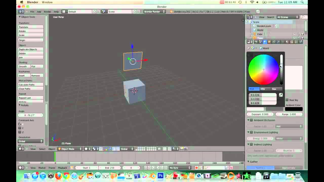Blender review free 3d software youtube for Programma rendering free