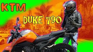 Una bestia de Moto / Duke 790 KTM / WBikers
