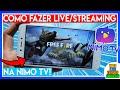 Como Fazer Live/Streaming na Nimo TV Pelo Celular - Live de Free Fire