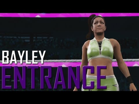 WWE 2K17: Bayley Entrance