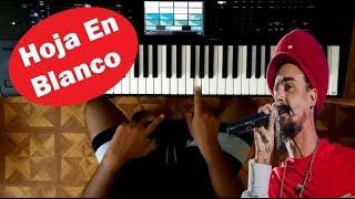 Hoja en Blanco / Dread Mar I / TUTORIAL PIANO 👨🏫🎹