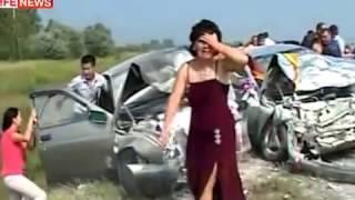 Свадебный кортеж разбился в ДТП по пути в загс