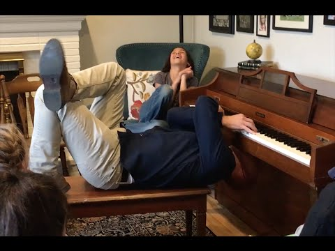 🎹🎬🎹PIANO GUYS; JON SCHMIDT PLAYS UPSIDE DOWN & WITH TOES