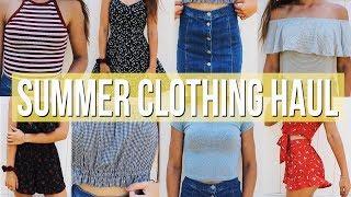 Try-On Summer Clothing Haul!   Breezylynn08