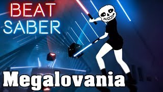 Beat Saber - Megalovania Cement City Remix (custom song) | FC