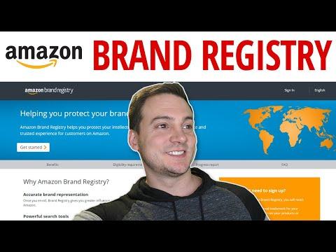 Amazon FBA Brand Registry