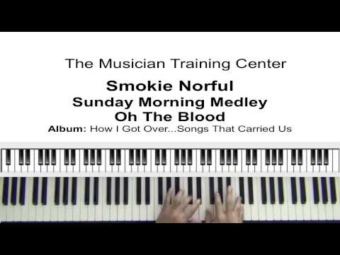 """How To Play """"Sunday Morning Medley -Oh The Blood"""" - Smokie Norful"""