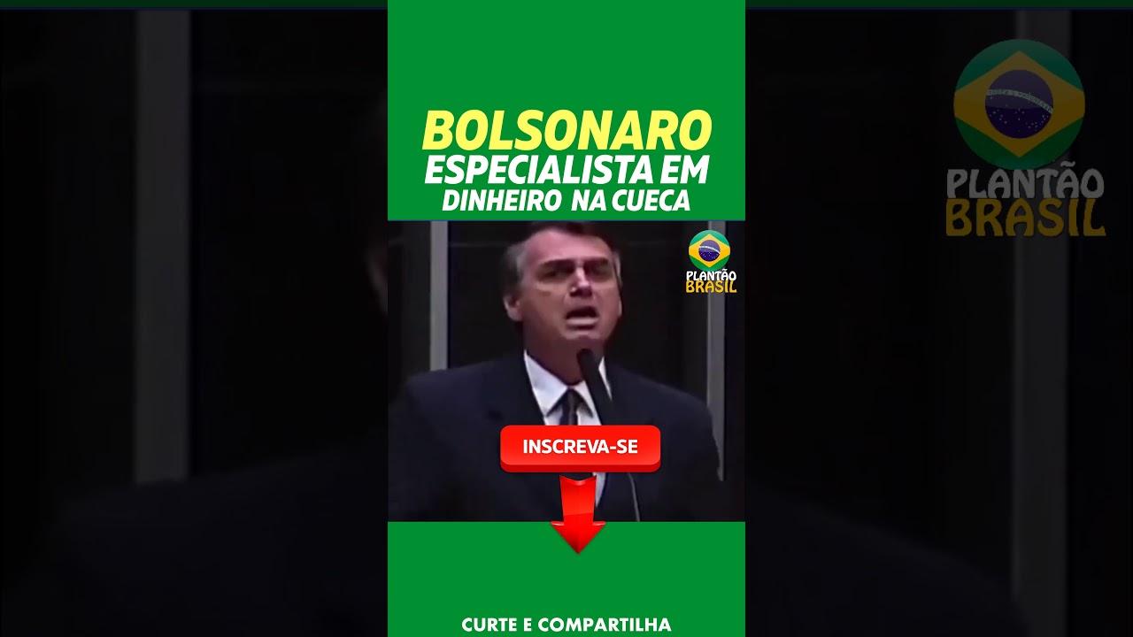 Bolsonaro é especialista em dinheiro na cueca #shorts