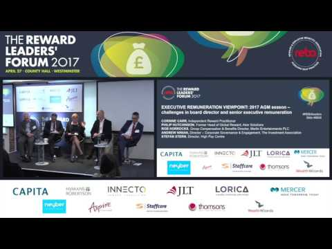 Video tutorial: Executive remuneration viewpoint panel discussion