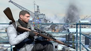 Sniper Elite 4 - DEATHSTORM 1 Mission Gameplay PC