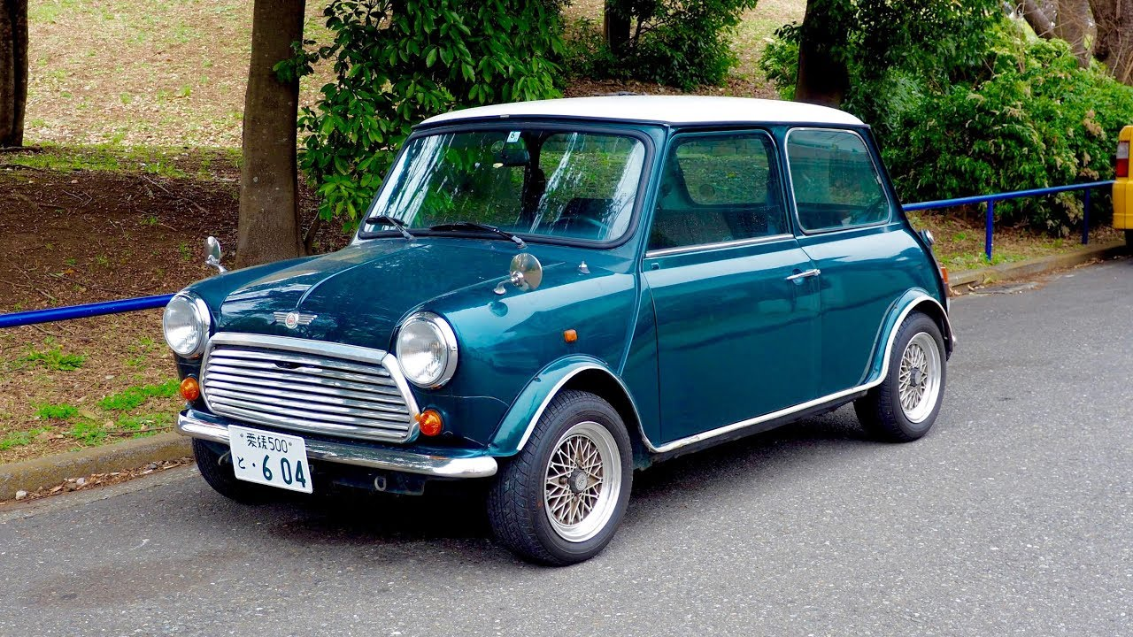 1993 Rover Mini Cooper 13i Canada Import Japan Auction Purchase