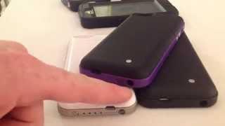 las mejores Fundas con batería extra para iPhone 4 iPhone 4S iPhone 5 iPhone 5S iPhone 5C