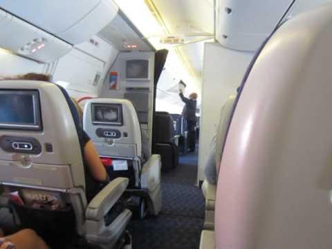 Interior do Boeing 777 da TAAG (Voo Luanda - Cape Town)