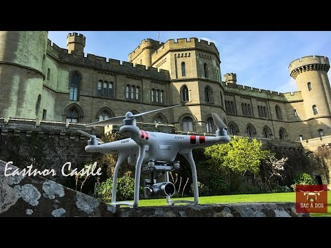 Amazing Castle From The Sky - Eastnor Castle [HD]