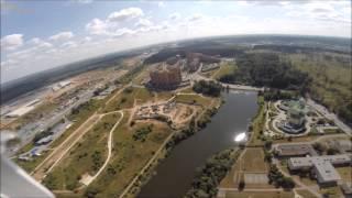 Никольский пруд в Зеленограде видео с воздуха.(Аэросъёмка водоёмов в Зеленограде. Видеосъемка озера с высоты., 2014-08-12T18:45:16.000Z)