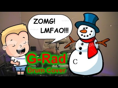 G-Rad: Rodney Carrington - Who Put The Dick On The Snowman drum cover
